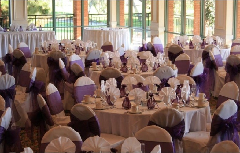 lilac chaircover