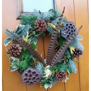 Wreath for your Door - Autumnal