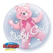 Baby Girl Double Bubble Balloon  £10.99