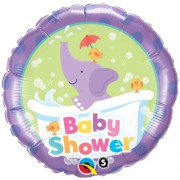 Baby Shower Elephant Foil  £4