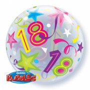 18 Brilliant Stars Bubble Balloon £7.99