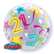 21 Brilliant Stars Bubble Balloon £7.99