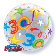 30 Brilliant Stars Bubble Balloon £7.99
