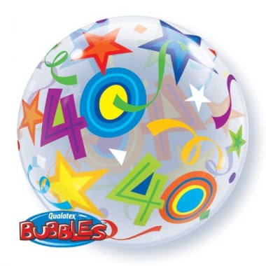 40 Brilliant Stars Bubble Balloon £7.99
