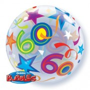 60 Brilliant Stars Bubble Balloon £7.99