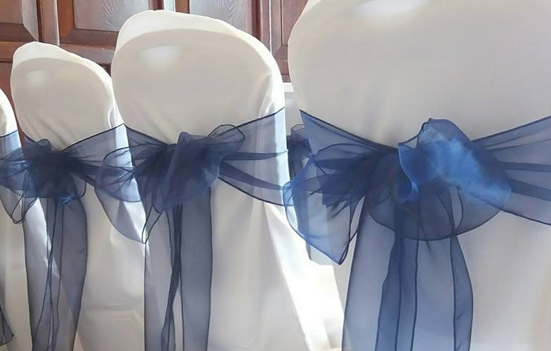 chaircovers,wedding,function,sash,blue,party,corporate