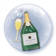 Champagne Bottle Double Bubble £10.99
