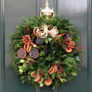 Wreath for your Door - Winter