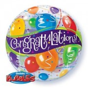 Congratulations Bubble Balloon £7.99