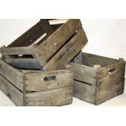 Crates - £10 each to hire