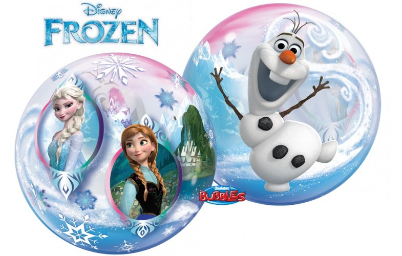 frozen-bubble-balloon-crewe-Disney