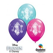Frozen set of 3 latex £6.50