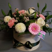 Floral Hat Box  -  From £20
