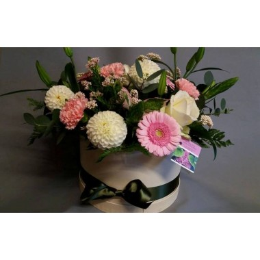 Floral Hat Box  -  From £30