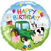 Farm Happy birthday Foil £4