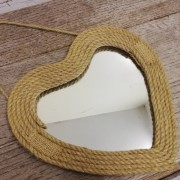 Heart Rope Mirror £12