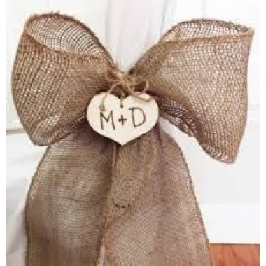 Rustic - Hessian Bow