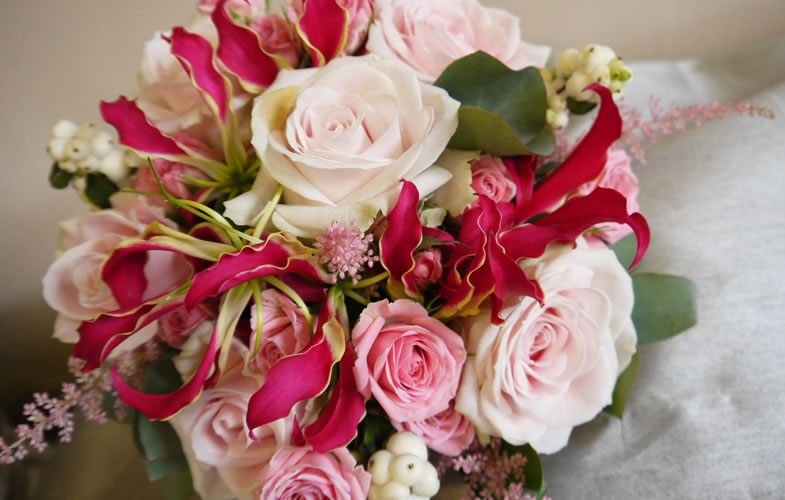 White, Pink, Rose, florist, flowers, crewe