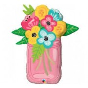 Jar of Flowers large foil  £9.99