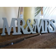 Contemporary - Mr & Mrs Letters