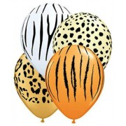 Safari set of 3 latex  £6.50