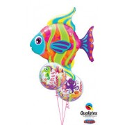 Sea Bouquet Tropical Fish & 2 Bubbles £28