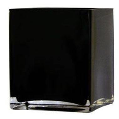 Black Glass Vase - £4 each to hire